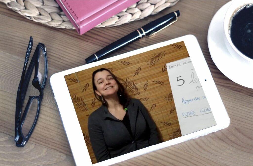 aperçu cours en ligne ABC marketing avec LiliFlore