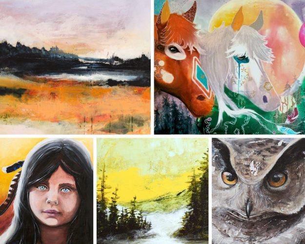 peinture-contemporaine-toiles-LiliFlore-1